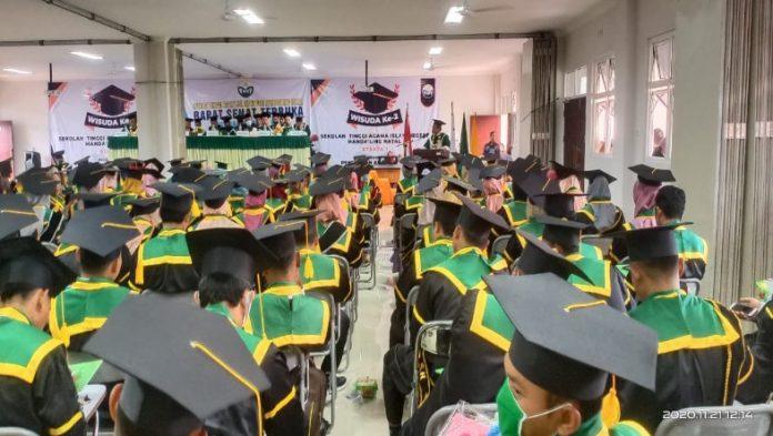 Selamat Kepada dan Sukses Mahasiswa STAIN Madina Yang Diwisuda